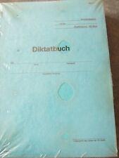 DDR NVA Arbeitsbuch-DIKTATBUCH-Blau-verschweißt unbenutzt