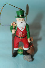 Danbury Mint Santas Around the World/ Ireland w Tags