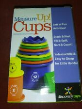 Discovery toys Measure up Cups New Best Price ! Best toys n sturdy !