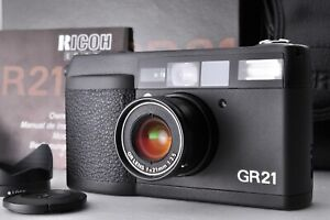 [NEAR MINT+++ in BOX!!] Ricoh GR21 Point & Shoot 21mm Wide Angle Lens from JAPAN