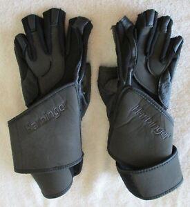 Men's Harbinger 1250 7004 Power Weightlifting Gloves Size Medium