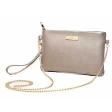 Aitbags Fashion Women's Crossbody Bag Soft Leather Clutch Purse With Chain Strap