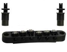 Roller bridge für E-Gitarre, electric guitar, schwarz, black, Bolzenabstand 73,5