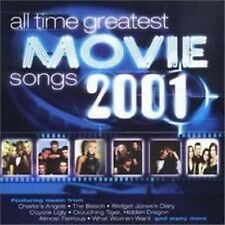 Double CD Album  The All Time Greatest Movie Songs 2001