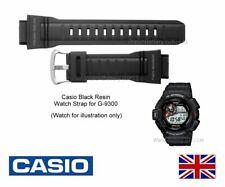 Genuine Casio Watch Strap Band for G-9300, G9300, G 9300 Mudman G-Shock - Black