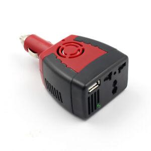 New 150W Car Power Inverter 12V DC to 220V/110v AC Converter Adapter USB Charger