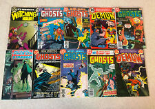 HUGE LOT of 67 BRONZE AGE HORROR Comic Books -- ALL DC -- ALL Pictured