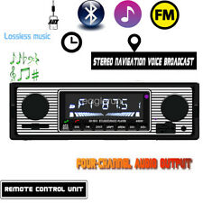 12V FM In Dash Car Stereo Radio Voice Broadcast  Bluetooth SD/USB AUX Gift