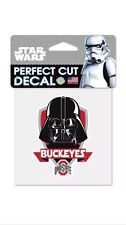 Ohio State Buckeyes NCAA Star Wars Darth Vader Die Cut Car Decal Wincraft