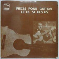 LUIS SUELVES - Pieces Pour Guitare LP Classical Guitar Solo Albeniz Tarrega