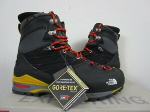 Mens TNF The North Face Verto SK4 Gore Tex GTX Mountaineering Hiking Boots Black