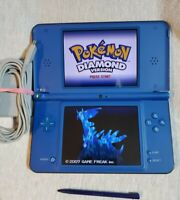 Nintendo DSi XL Blue/Black,Tested and Working, OEM Stylus and Charger,  No Game