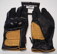 TORC Melrose Armor Reinforced Soft Leather Motorcycle Gloves