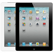 "Apple iPad 2 2nd Gen 32GB Wi-Fi 9.7"" Tablet Touch Screen Black & White"