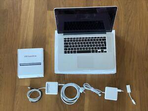 Apple MacBook Pro A1398 15,4 Zoll Laptop - MJLT2D/A (Mai, 2015, Silber)