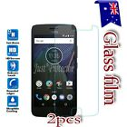 2X Motorola Moto G5 G5S G5 Plus Tempered Glass / Pet LCD Screen Protector Film