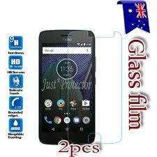2X Motorola Moto G5 G5S G6 G5 Plus G6 Play Tempered Glass /Pet Screen Protector