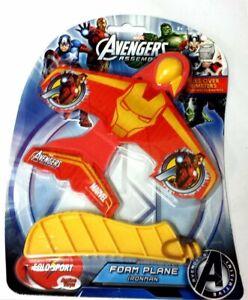Marvel Avengers Assemble Foam Plane ~ IRONMAN