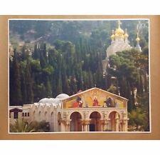 "Jerusalem City 24"" x 30"" Church Temple Print Poster Christmas Gift Jesus Amen"