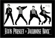 ELVIS PRESLEY JAILHOUSE ROCK 13x19 FRAMED GELCOAT POSTER MUSIC LEGEND KING NEW!!