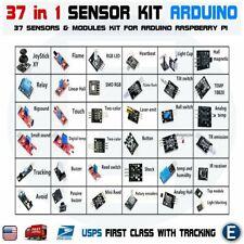 Ultimate 37 In 1 Sensor Modules Kit For Arduino Compatible Mcu Raspberry Pi Usa