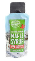 Butternut Maple Farm - Maple Syrup Pouch 1 oz -  100% Pure Maple Syrup (12 Pack)