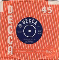 "The Tornados 1962 - 7"" Vinyl 45 RPM - Locomotion With Me / Globetrotter"