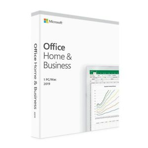 Microsoft Office Home and Business 2019 Medialess Retail T5D-03301