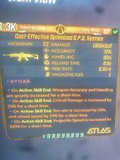 Borderlands 3-Pedales-o.p.q System (Infinito munición/retroceso cero) 5X Zoom-Xbox