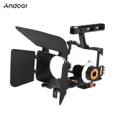 Andoer C500 Aluminum Alloy Camera Camcorder Video Cage Rig Kit Film Making A8B0