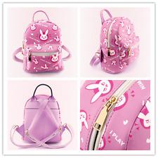 New Overwatch Bag DVA The rabbit design backpack Pink backpack rucksack