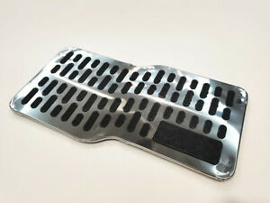1Pc Auto Floor Mats Carpet  Car Non-slip Floor Liner Foot Pedal Mat Metal Pads