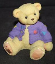 Vintage PLASTIC Teddy Bear Bank ENESCO Priscilla Hillman