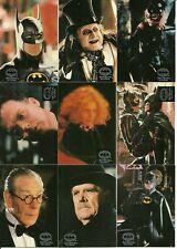 1992 Topps Stadium Club Batman Returns Stadium Club complete set
