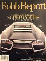 Robb Report Magazine Lamborghini's Super Coupe March 2008  020418nonrh