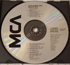 Olivia Newton-John - Greatest Hits, MCA Records MCAD-5226, CD Made in Japan