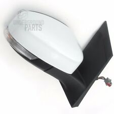 FORD FOCUS MK2 FROZEN WHITE ELECTRIC DOOR WING MIRROR RIGHT OFFSIDE DRIVERS SIDE