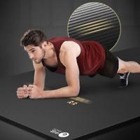 185cm Enlarged Fitness Mat Yoga Mat Men Gym Exercise Mat Yoga Lengthen Non-slip