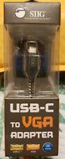 SIIG USB-C To VGA Adapter