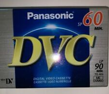 Panasonic DVC Digital Video Cassette Mini DVM60 ME Linear Plus 90 LP New