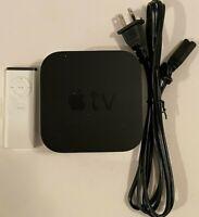 Apple TV (3rd Generation) 8GB HD Media Streamer - A1469, GENUINE APPLE REMOTE