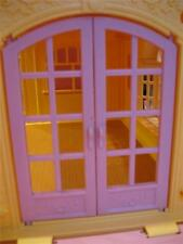 Loving Family Twin Time Doll House Replacement Doors Lot~3rd Floor Patio Set