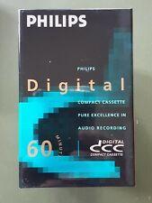DCC Digital Compact Cassette Audio Recording Tape Philips 60
