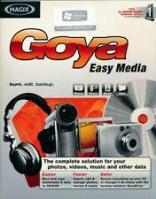 Magix Goya Easy Media-organisieren Fotos Videos Musik Software PC (CD in Hülle)