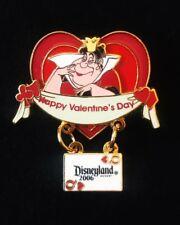 Disney DLR Valentine's Day 2006 Alice in Wonderland Queen of Hearts Pin LE1000