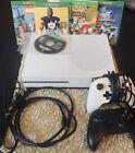 Microsoft Xbox One S 1TB White Console BUNDLE! See Description!!