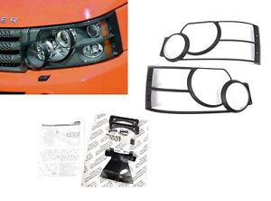 LAND ROVER RANGE ROVER SPORT 2005-2009 GENUINE FRONT LIGHT GUARDS SET VUB501930G