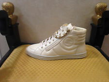 AUTHENTIC CHANEL RARE HIGH TOP SNEAKERS SHOES SIZE EU 42