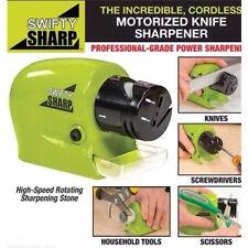 Speedy Electric Sharpener Sharp Swifty Kitchen Razor Blades Motorised Blade Tool