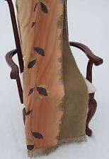Wende Wolldecke Plaid 100% Wolle +Baumwolle Satin  Blanket 155x200